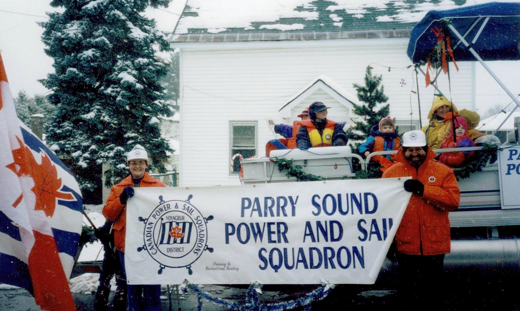 Parry Sound Power and Sail Squadron - Christmas Parade