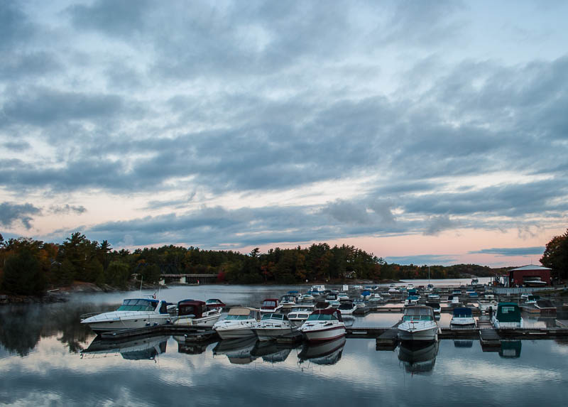 Parry Sound October 2012