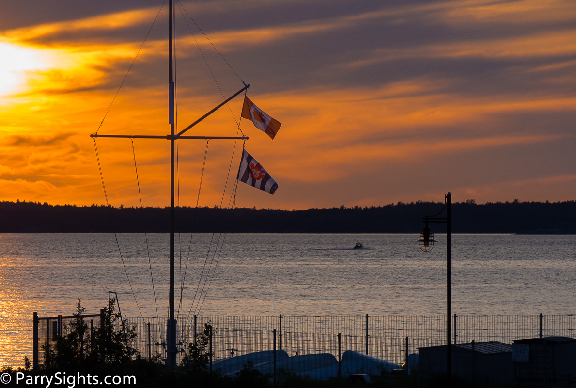 Flags Over Sail Parry Sound